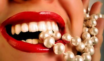 зубы с жемчугом