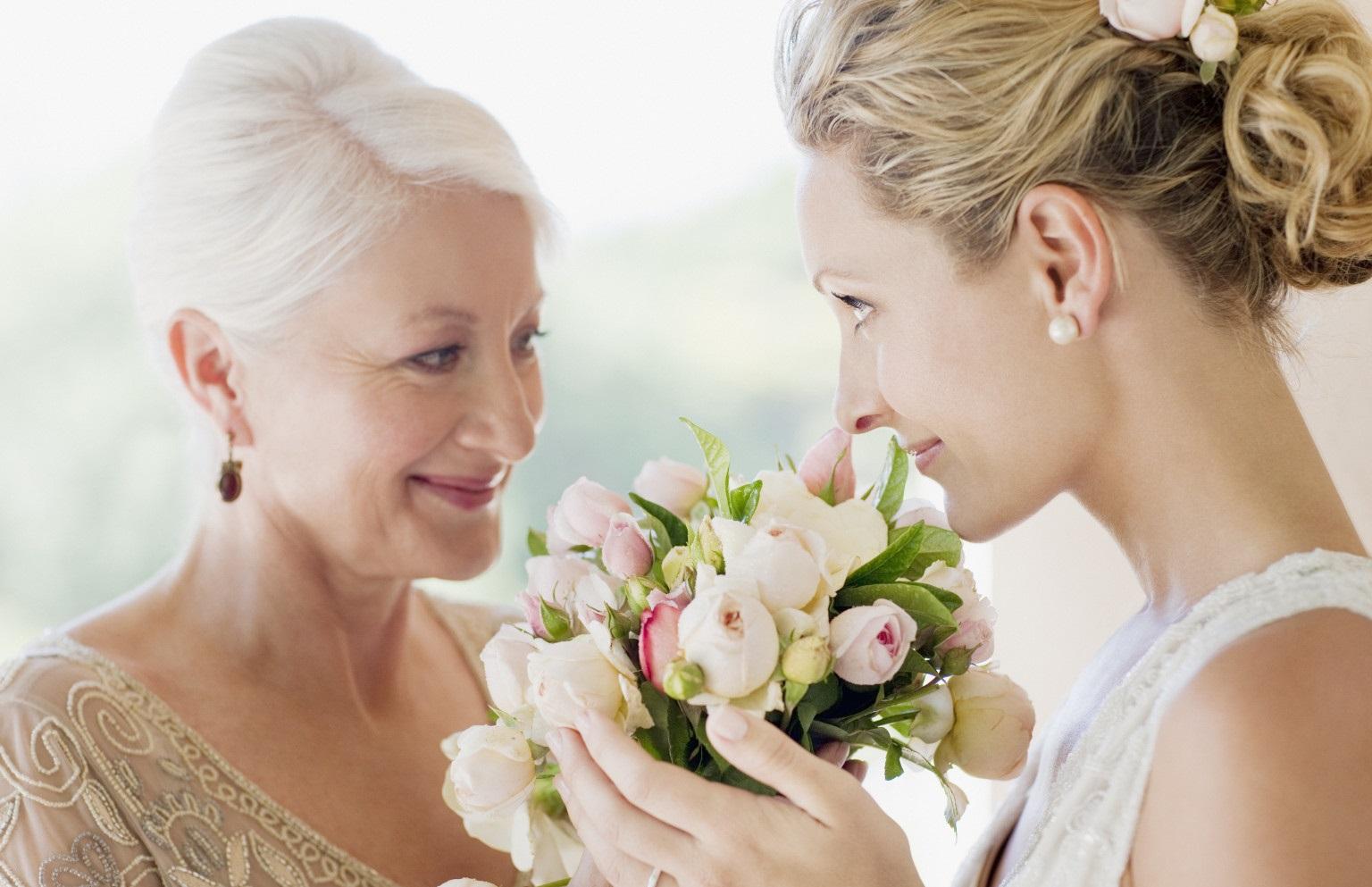 невеста с мамой