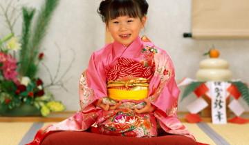 девочка - японка