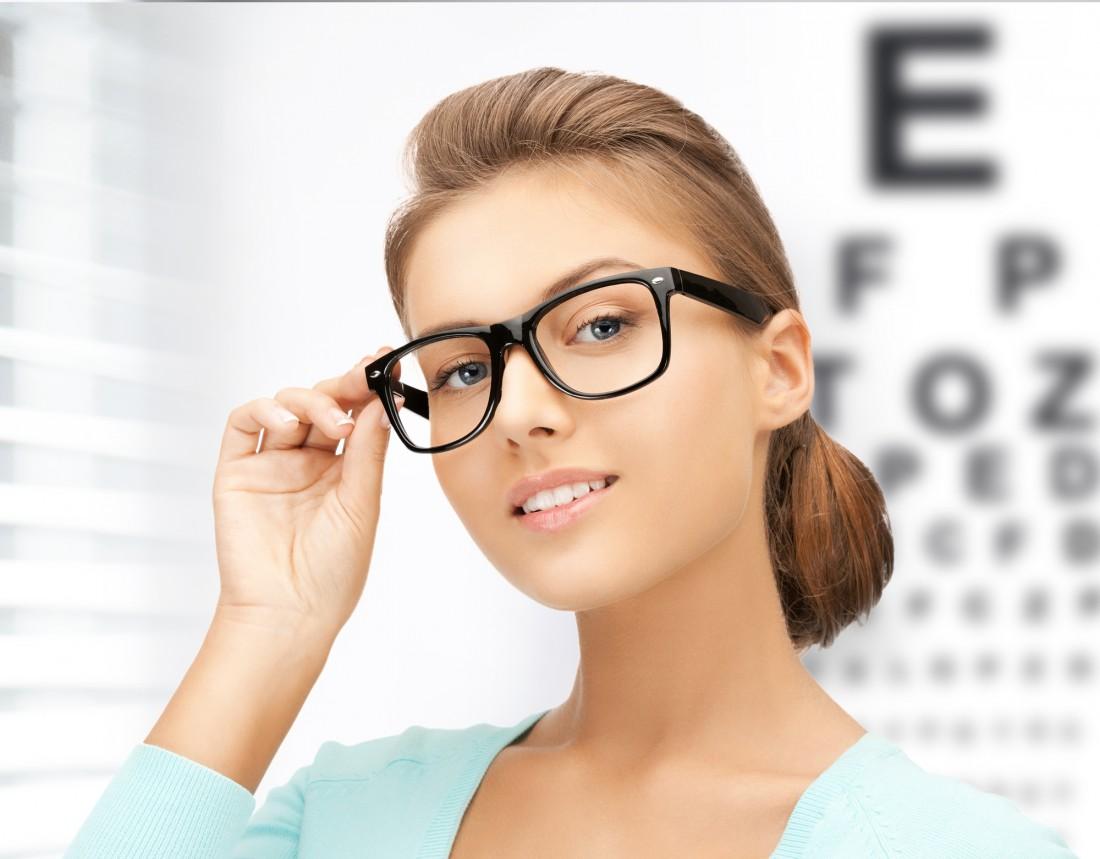 Очки оптические для девушек фото