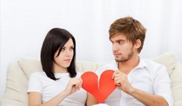 пара с разорванным сердцем