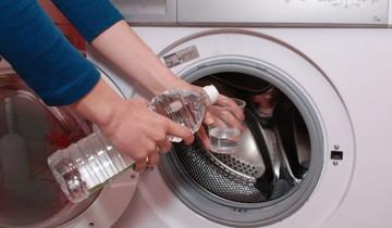 Очистка  стиральной машины уксосом