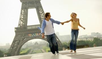 Париж, романтика