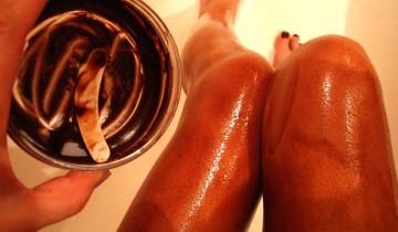 шоколадное масло для тела