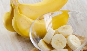 кружки банана в салатнице