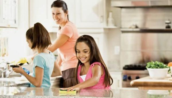 мама и две дочки